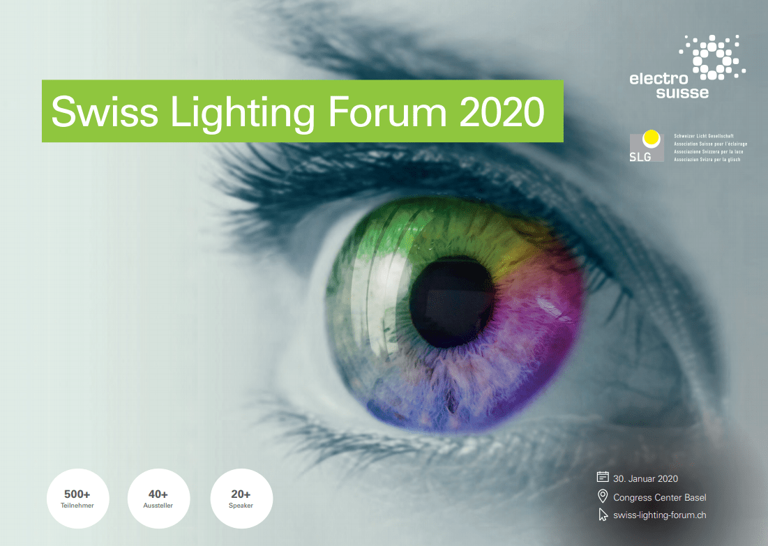 smarterion am Swiss Lighting Forum in Basel