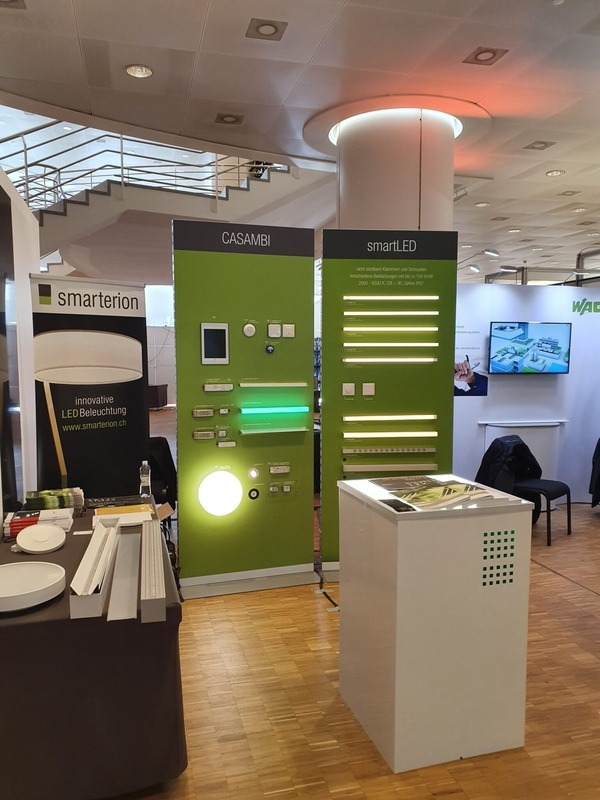 smarterion am Swiss Lighting Forum 2020 in Basel