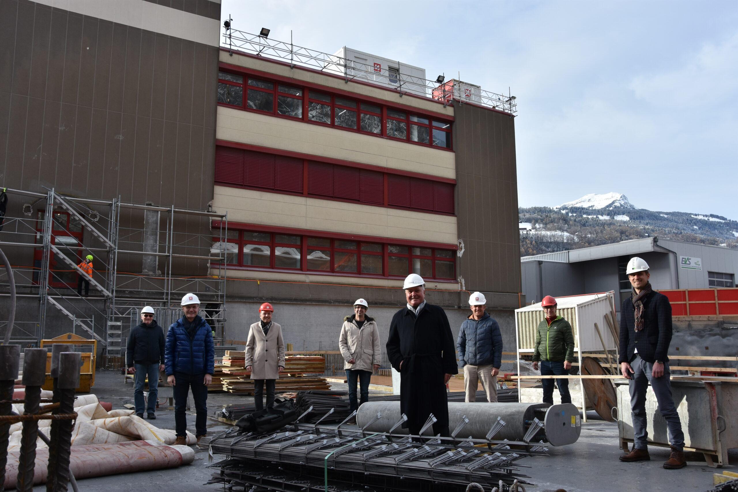 smarterion Erweiterung Neubau Industriepark Mels